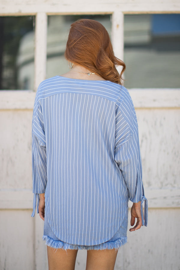 Eliza Stripe Top - Madison + Mallory