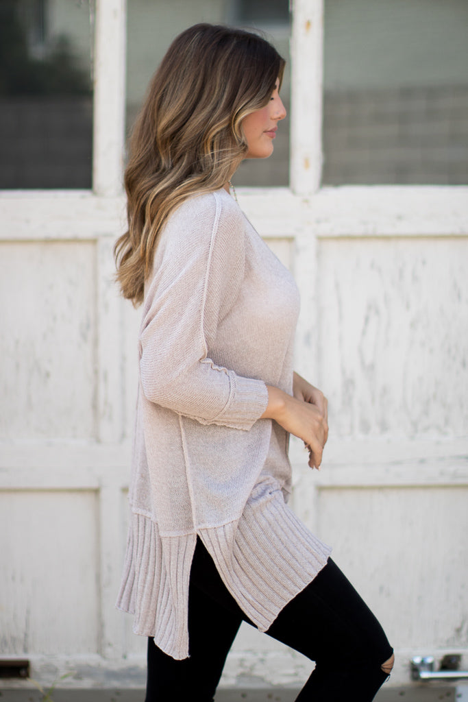 Seamingly Perfect Sweater - Madison + Mallory