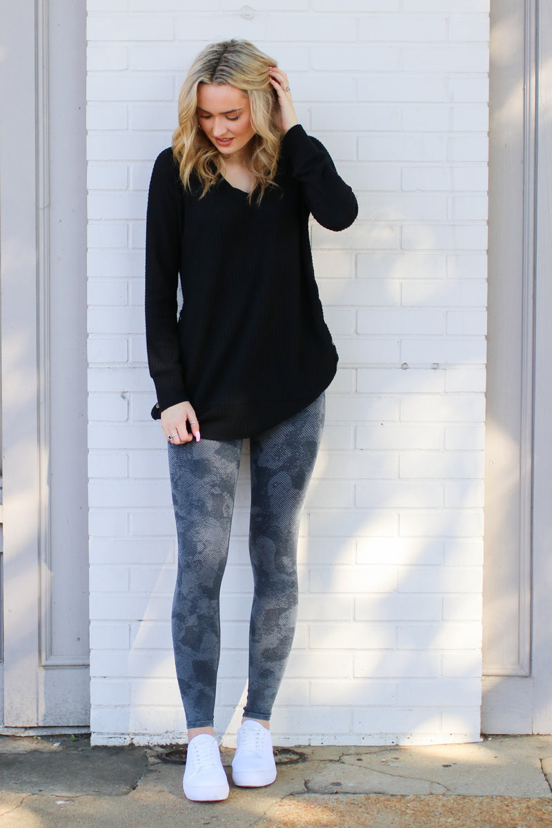Redondo Mineral Wash Leggings - Madison and Mallory