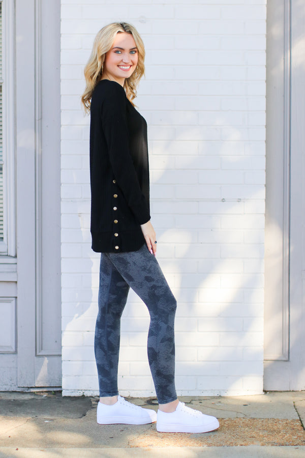 Redondo Mineral Wash Leggings - Madison + Mallory