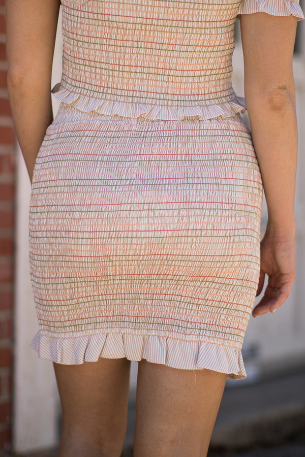 Sweet Escape Smocked Skirt - FINAL SALE - Madison and Mallory
