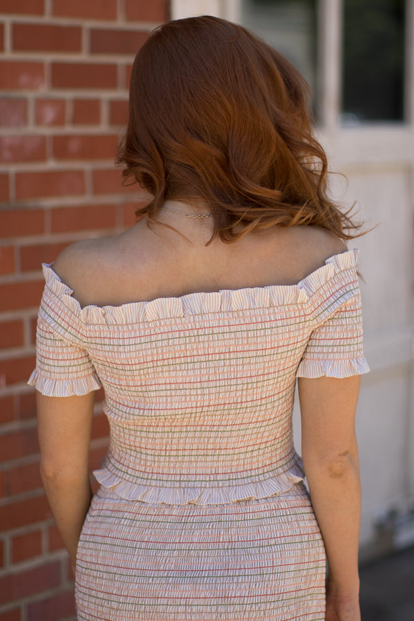 Sweet Escape Smocked Top - Madison + Mallory