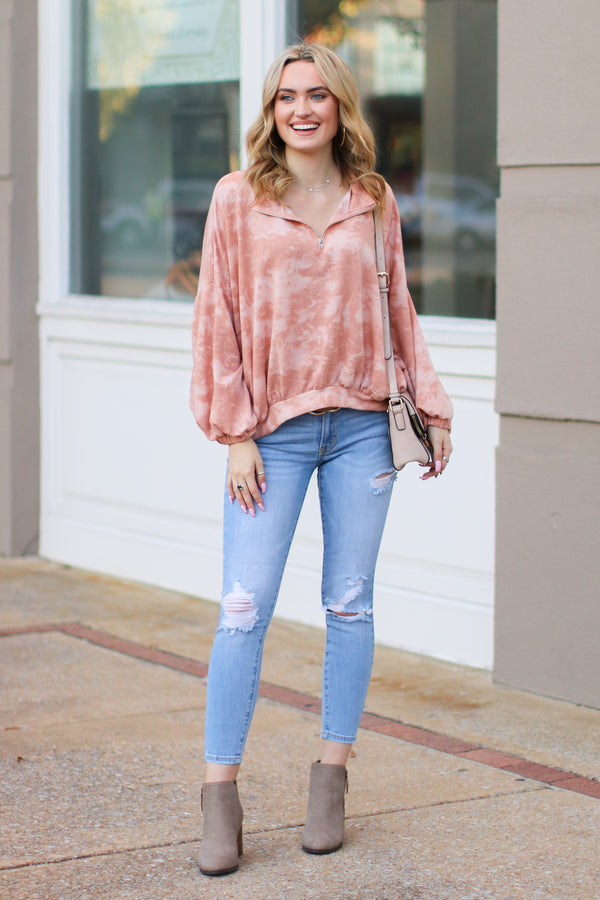 Rana Distressed Skinny Jeans - Madison + Mallory