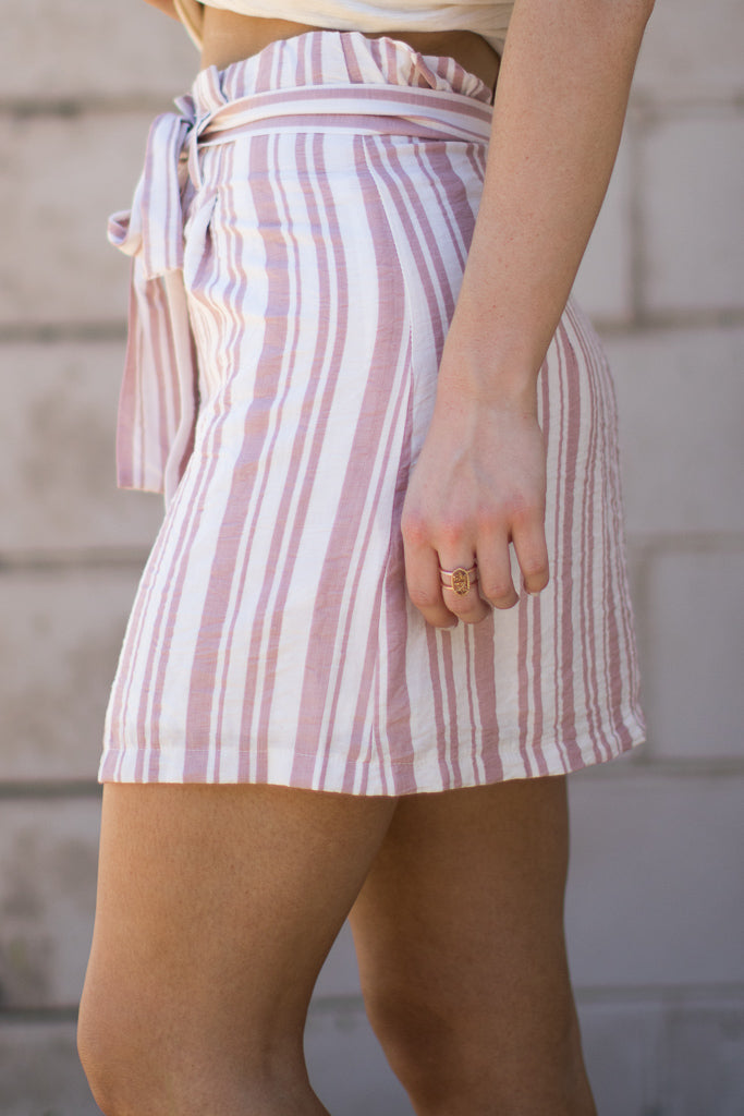 Maryam Striped Skirt - Madison + Mallory