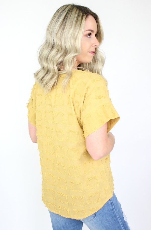 Scattered Sunbeams Top - FINAL SALE - Madison + Mallory