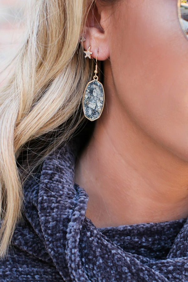 Know You Well Druzy Earrings