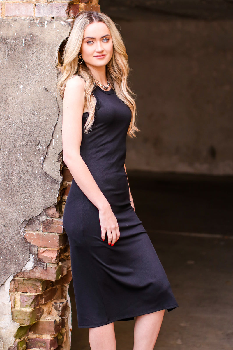 S / Black Inspired to Dream Dress - Madison and Mallory