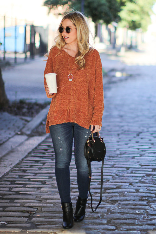 Current Casual Knit Sweater - Madison + Mallory