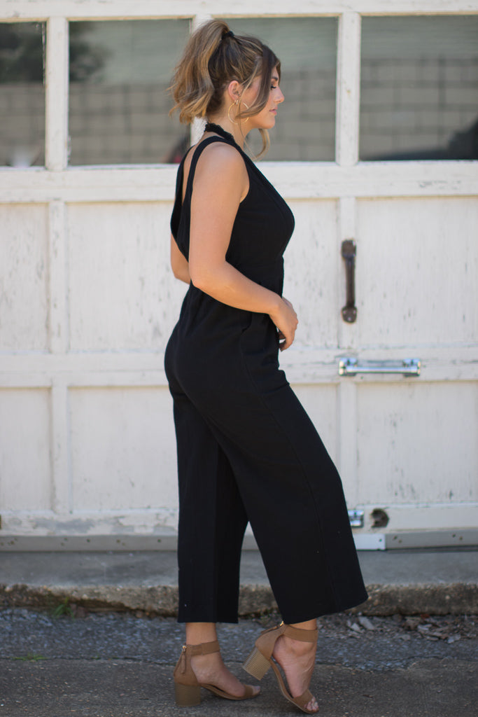 Button Down Jumpsuit - Madison + Mallory