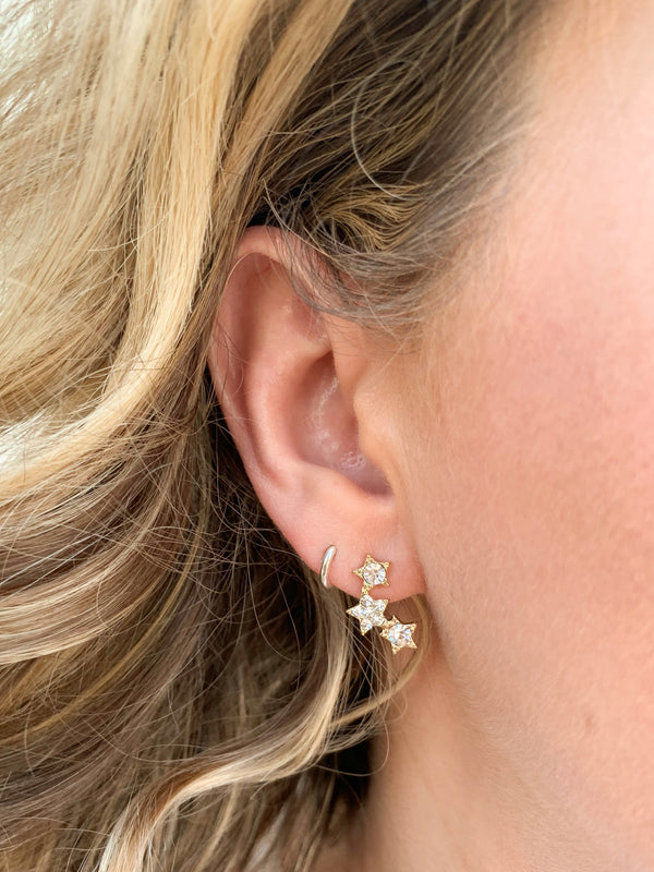Odessa Star Cluster Earrings - Madison and Mallory