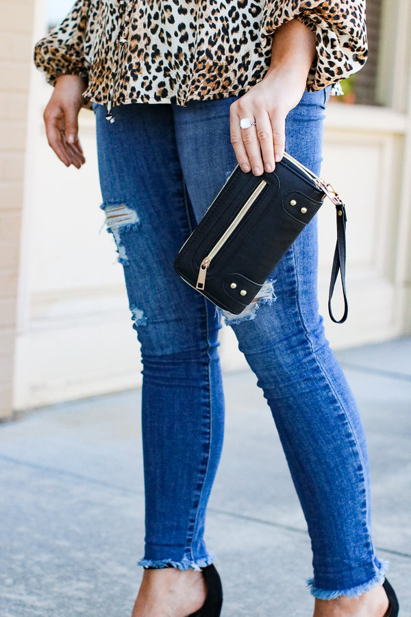 New York Minute Zip Wallet - Madison + Mallory