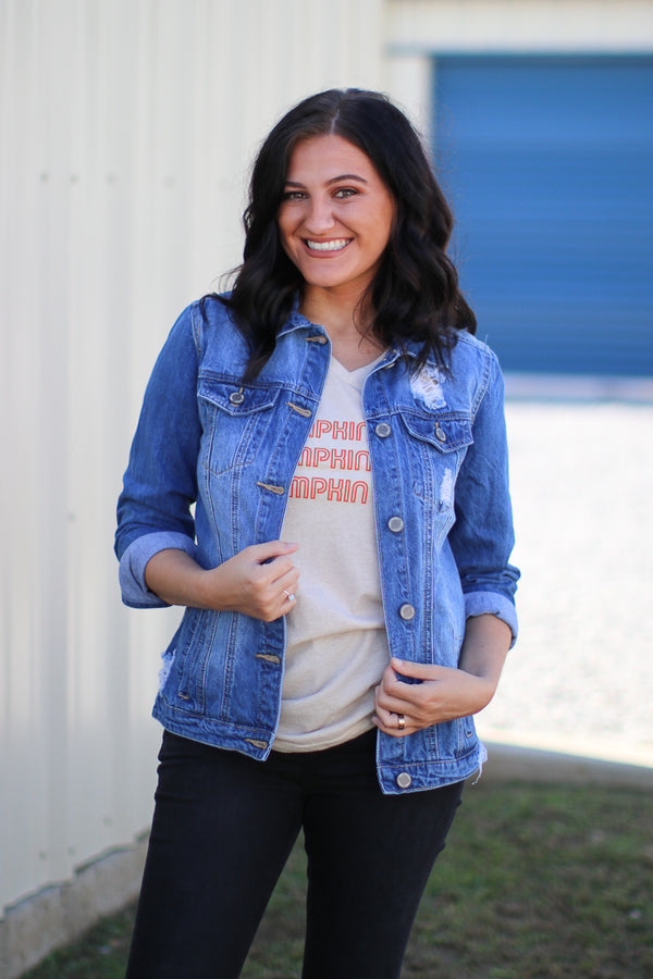 Pumpkin Spice Tee | CURVE - Madison + Mallory