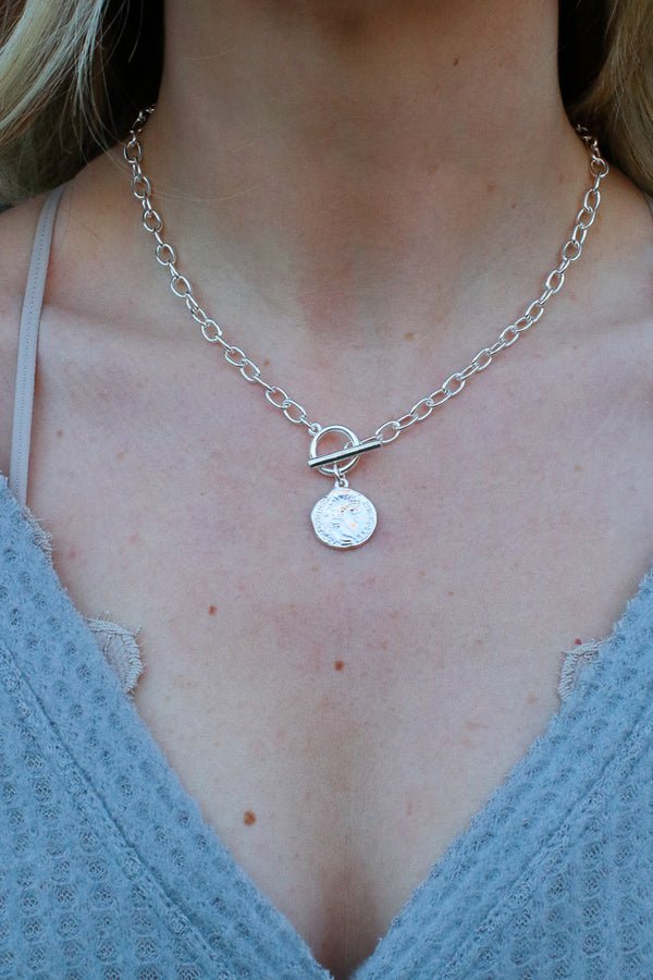 Instant Necessity Layered Coin Necklace - Madison + Mallory