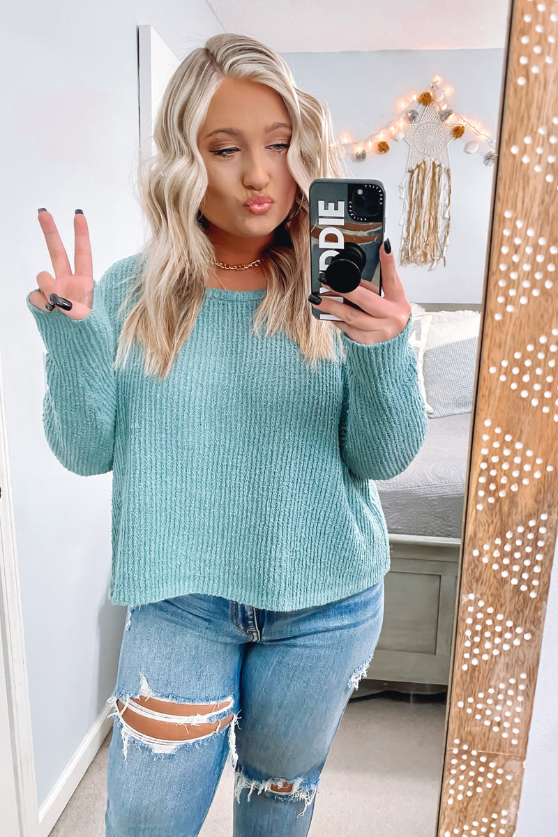 Valyssa Relaxed Knit Sweater - FINAL SALE - Madison and Mallory