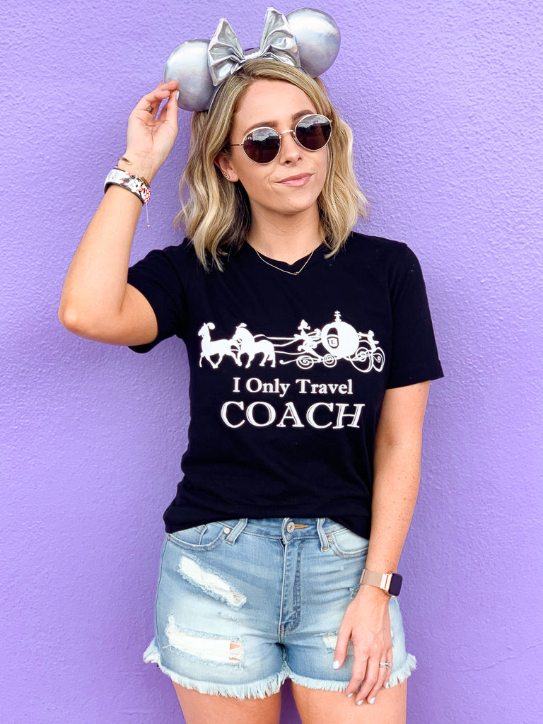 Black / S I Only Travel Coach - Madison + Mallory