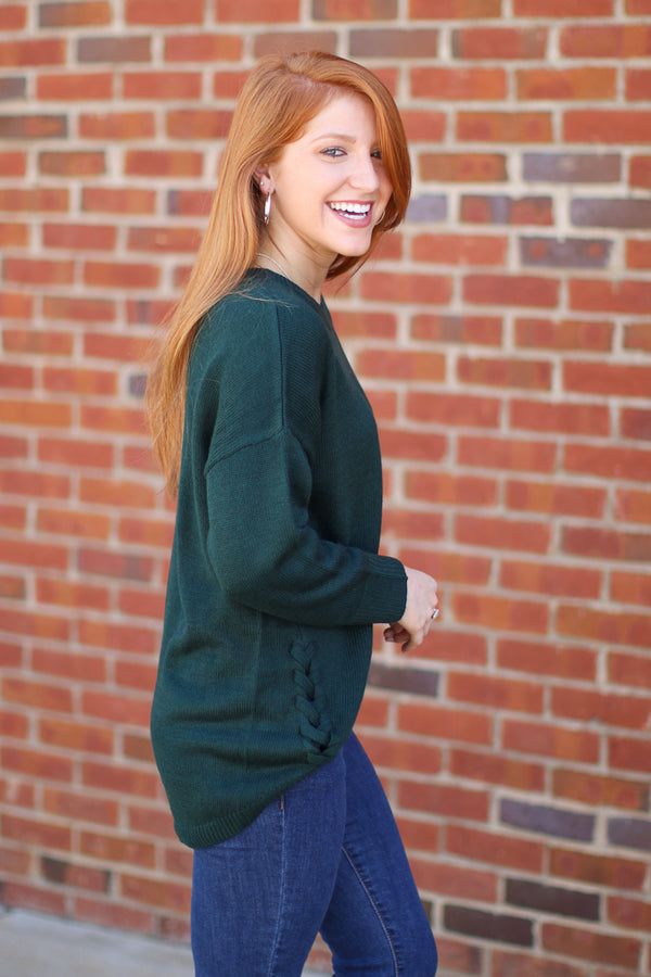 Straight Laced Sweater - Madison + Mallory
