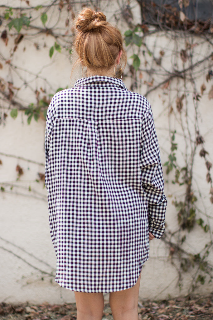 Count on Me Gingham Top - Madison + Mallory