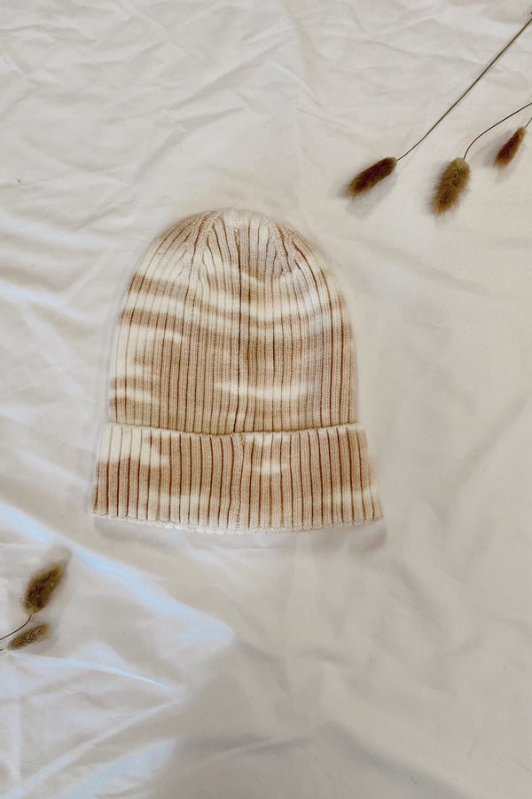 OS / Nude Snuggly Season Marble Knit Beanie | Doorbuster - Madison and Mallory