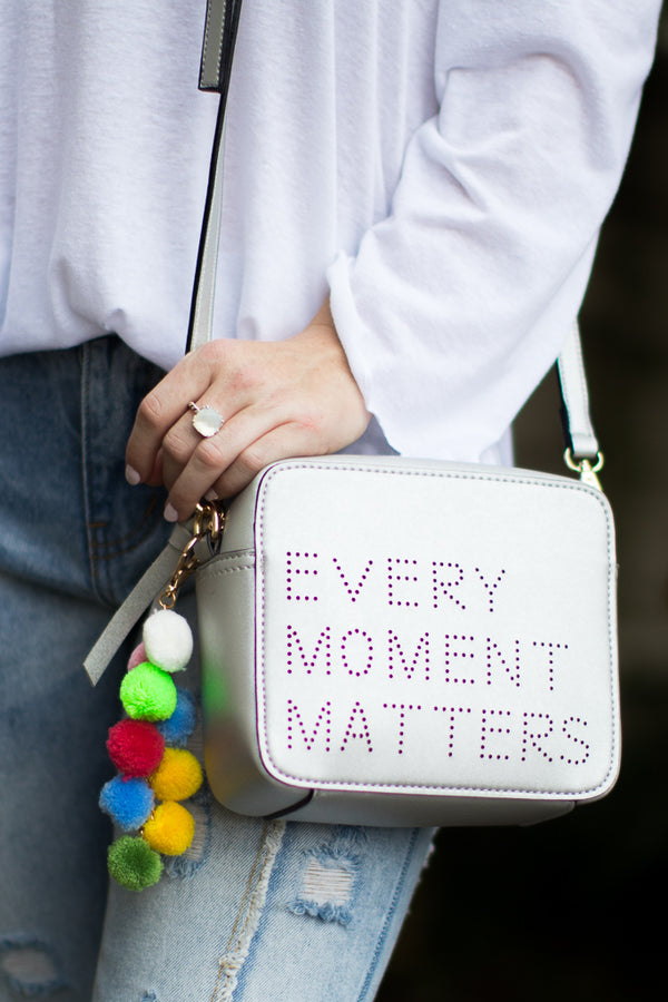 Every Moment Matters Crossbody - Madison + Mallory