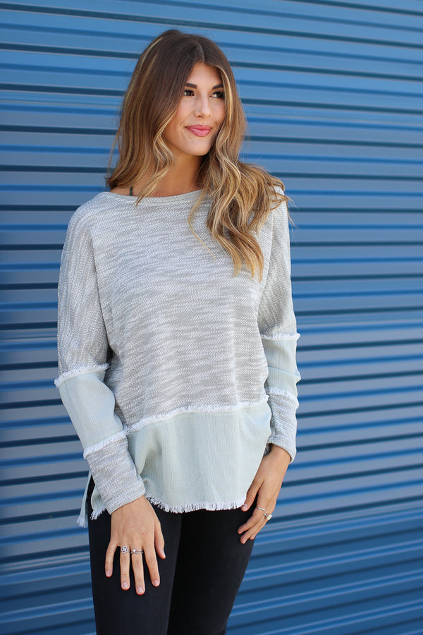 Braelyn Knit Top - Madison + Mallory