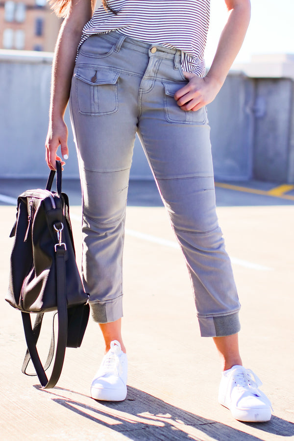 Acapulco Washed Cargo Pants - Madison and Mallory