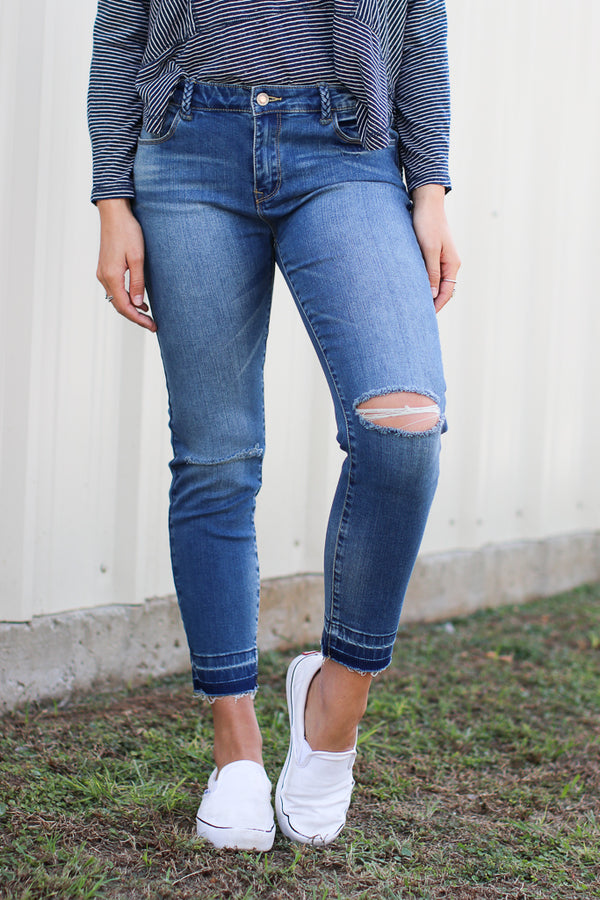 27 / Medium Wash Danielle Skinny Jeans - Madison + Mallory