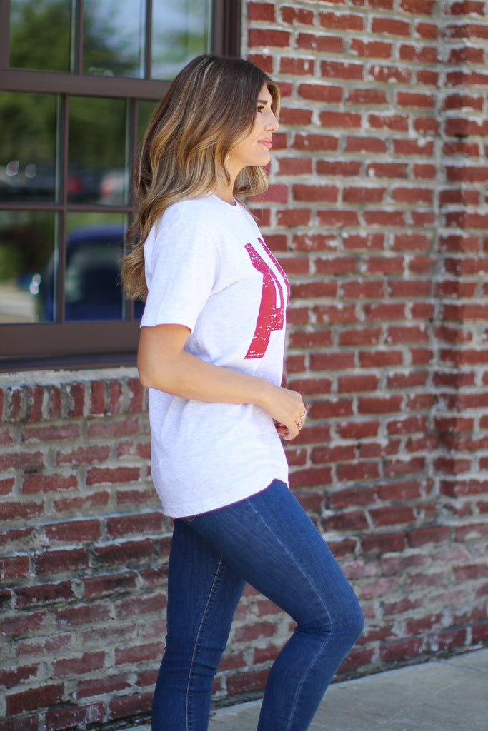 AL State Tee | CURVE - FINAL SALE - Madison and Mallory