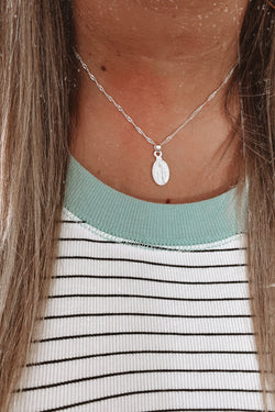 Silver Such a Saint Coin Necklace - Madison and Mallory