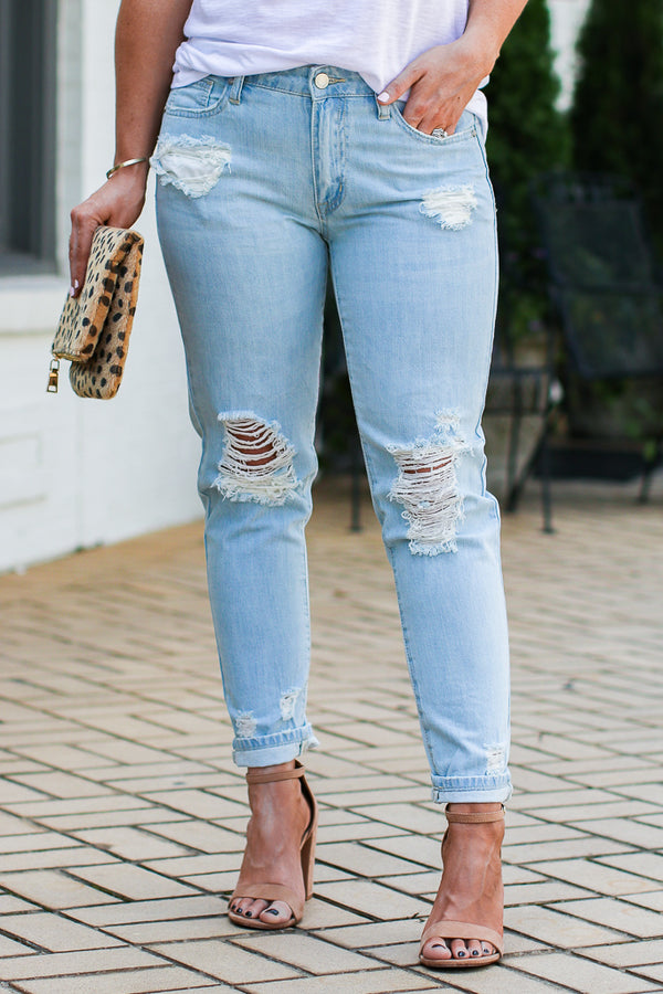 S Ocean Isle Boyfriend Jeans - FINAL SALE - Madison + Mallory