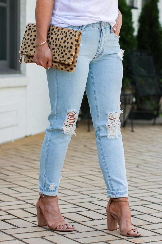 Ocean Isle Boyfriend Jeans - FINAL SALE - Madison + Mallory