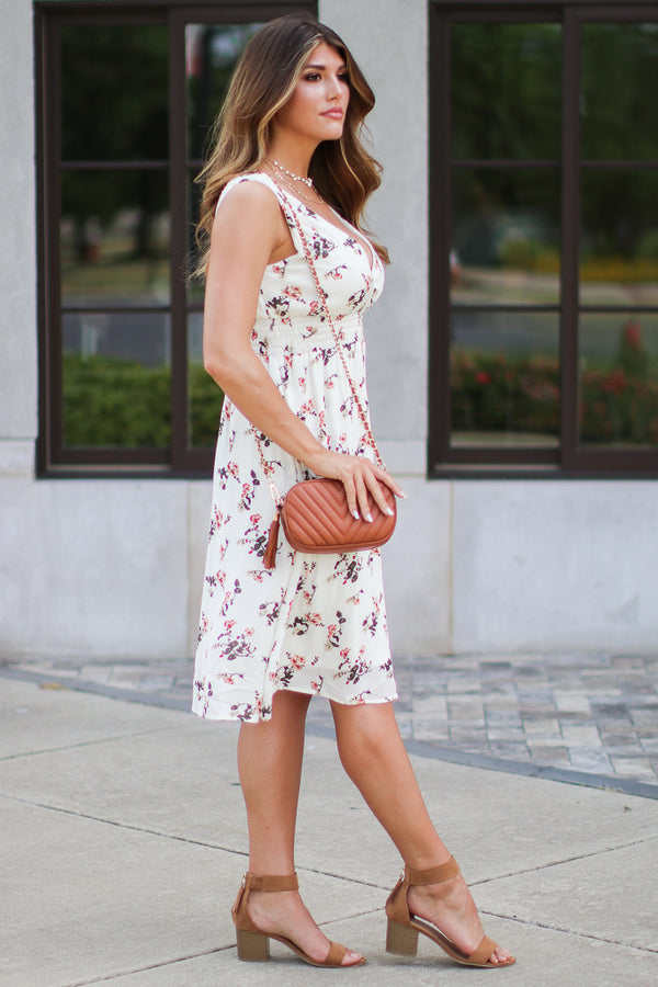 Always In Bloom Floral Dress - FINAL SALE - Madison + Mallory