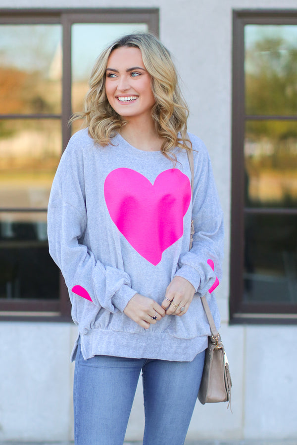 Heartstrings Graphic Sweatshirt - Madison + Mallory