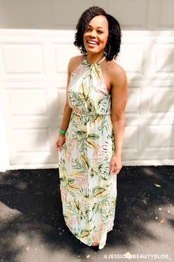 Sun kissed Dreams Tropical Maxi Dress - Madison and Mallory