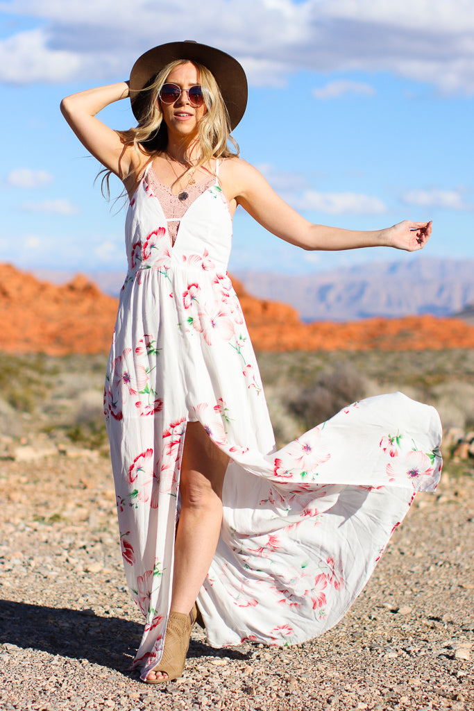 Torey Floral Maxi Dress - FINAL SALE - Madison + Mallory