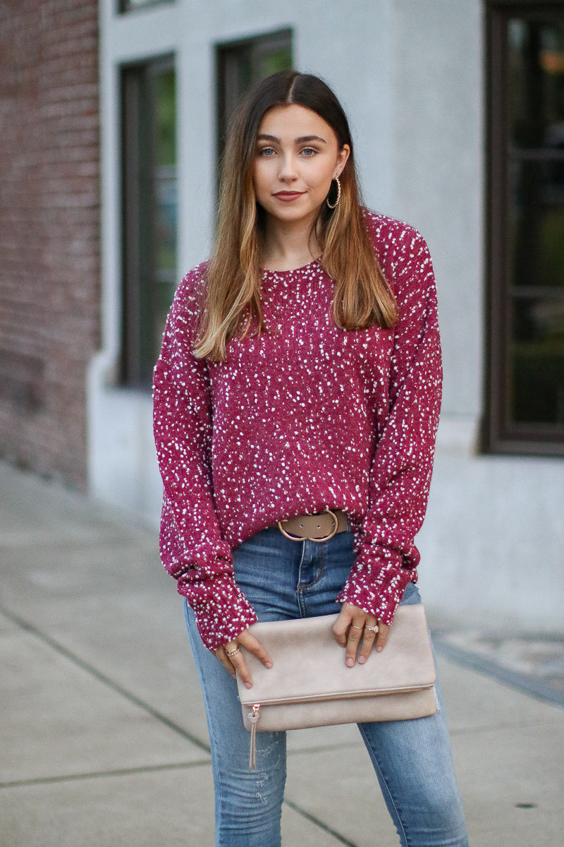 S / Ruby Five More Minutes Knit Sweater - Madison + Mallory