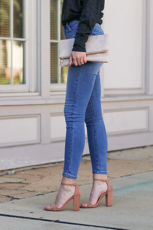 Hannon High Rise Jeans - Madison + Mallory