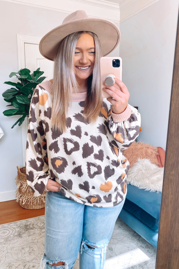 Maxed Out Multi Color Animal Print Pullover - Madison and Mallory