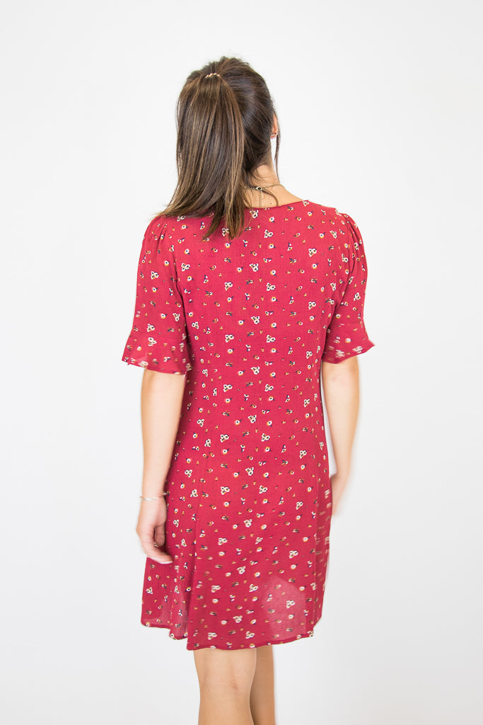 Vintage Dreams Floral Dress - Madison + Mallory