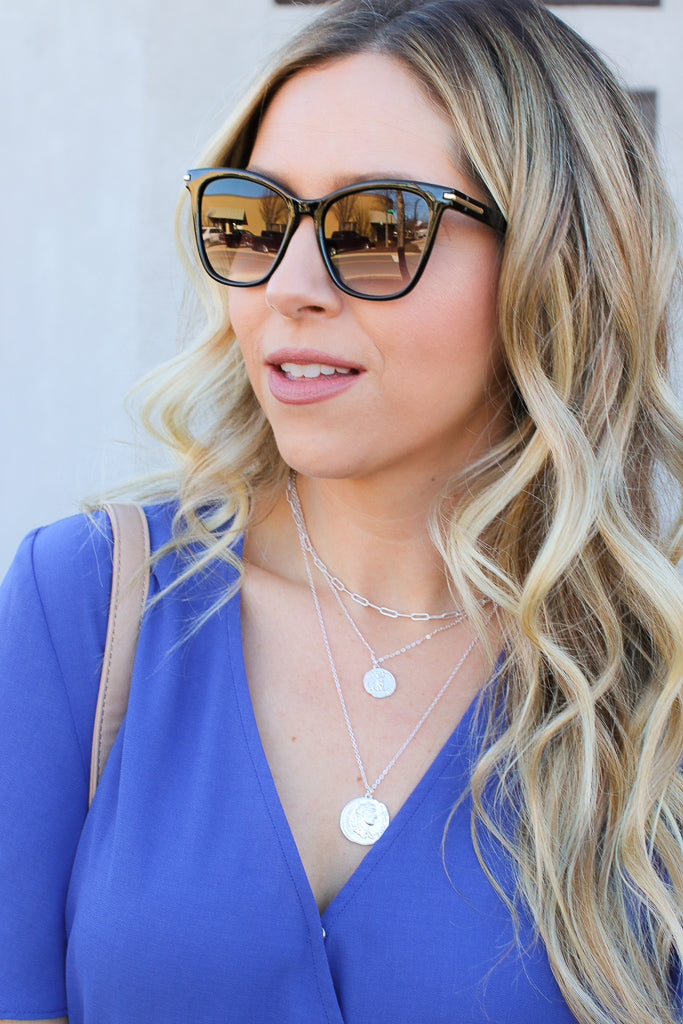 Gadsden Square Rim Sunglasses + MORE COLORS - Madison + Mallory