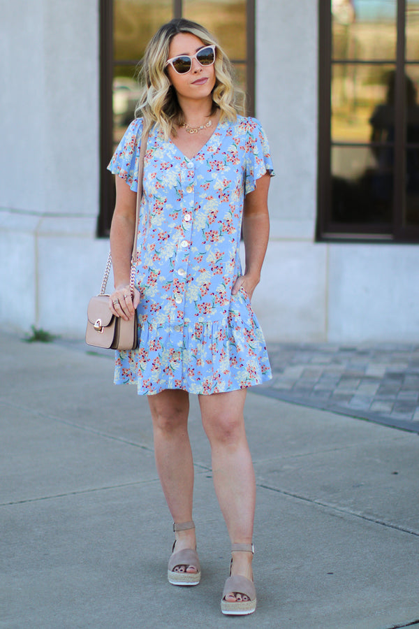 Everyday Love Floral Dress - Madison + Mallory