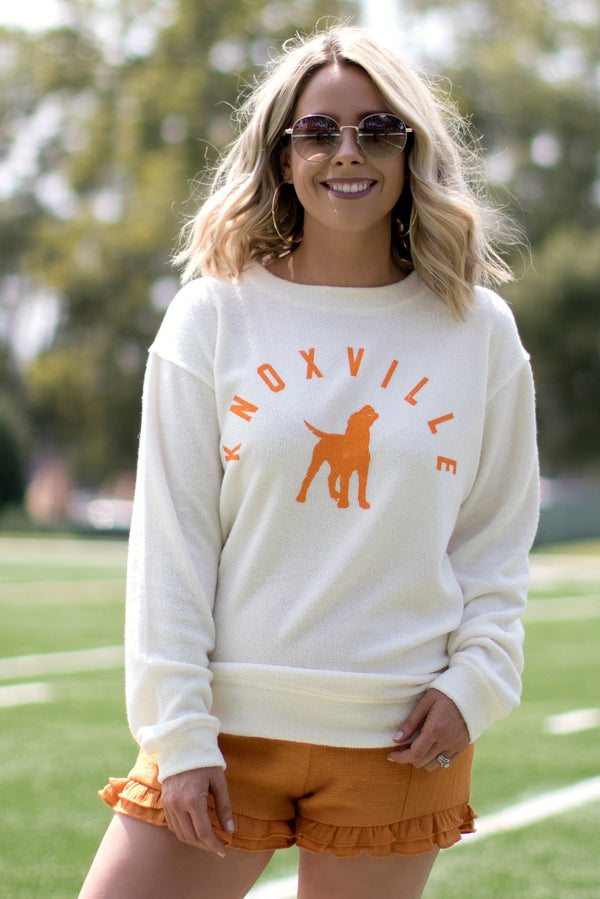 Knoxville College Town Cozy Pullover - Madison + Mallory