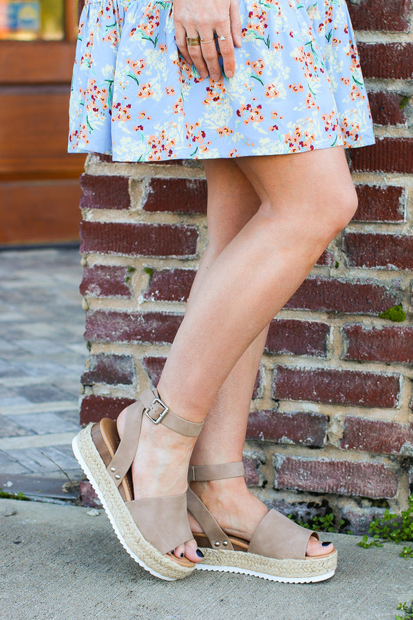 Give Me a Lift Platform Wedges - Madison + Mallory