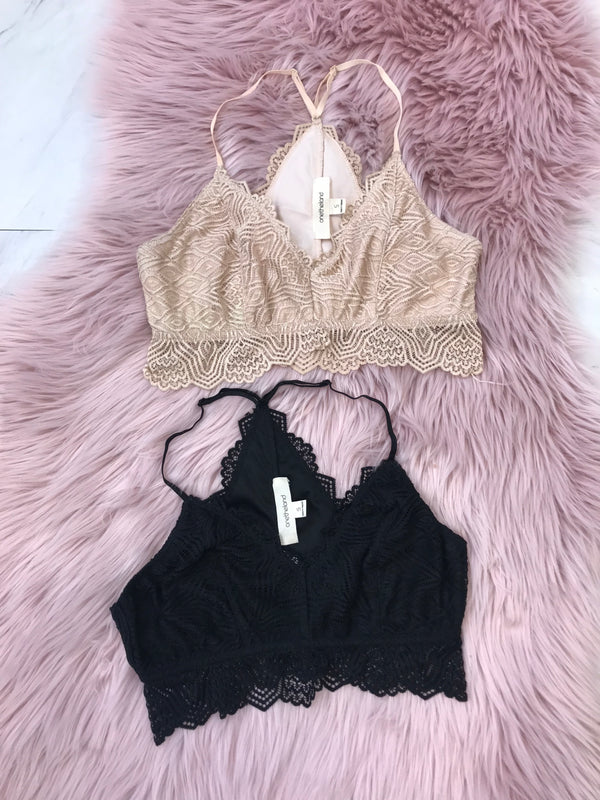 Elle Lace Bralette - Madison + Mallory