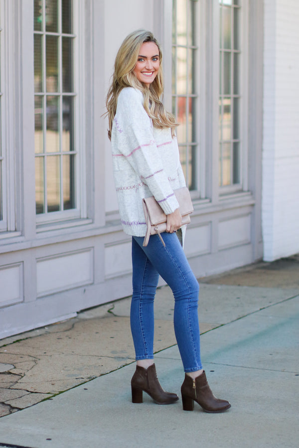 Keep Me Loved Knit Cardigan- FINAL SALE - Madison and Mallory