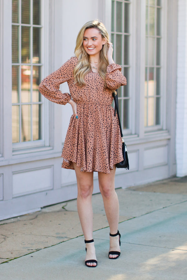 Editor's Pick Animal Print Dress - Madison and Mallory