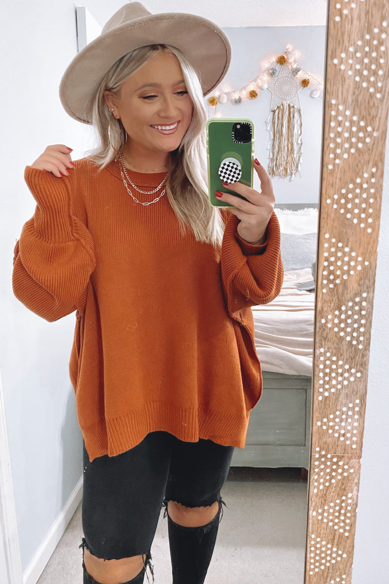 Style Supply Relaxed Fit Dolman Sweater - Madison and Mallory