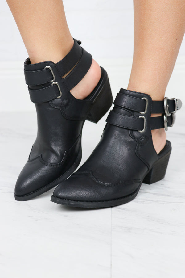 Starlight Western Buckle Slingbacks - FINAL SALE - Madison + Mallory