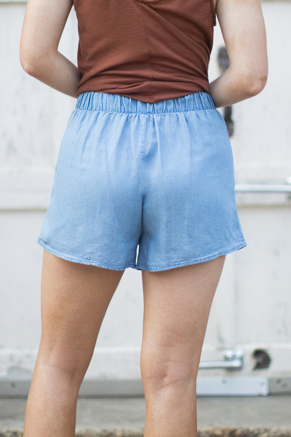 Alisa Embroidered Shorts - Madison + Mallory