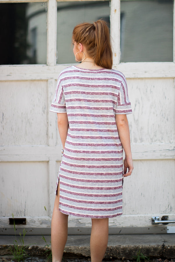 Karina T-Shirt Dress - Madison + Mallory