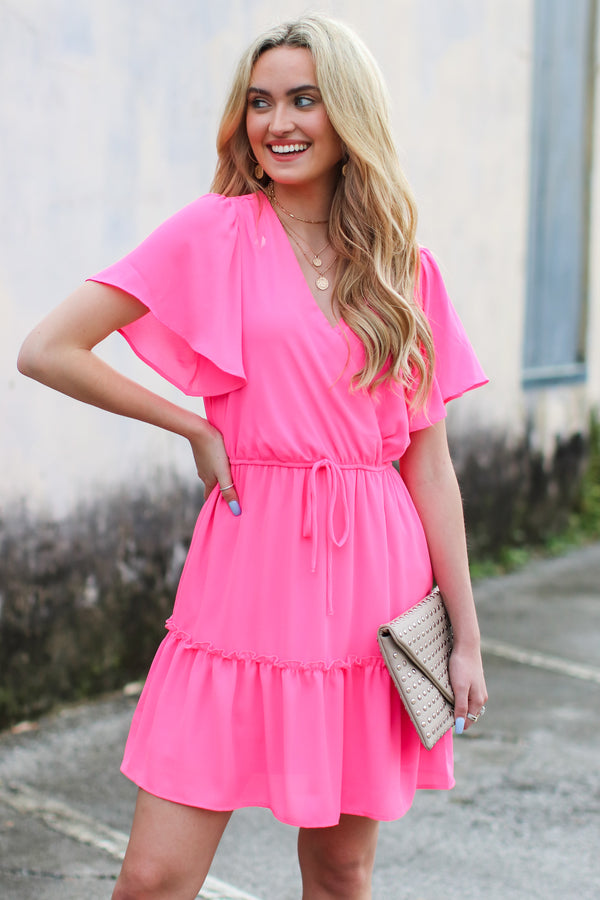 Made You Look Fit and Flare Dress - Madison and Mallory